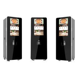 آلة بيع القهوة والشاي تعمل بنظام الفواتير تعمل بنظام تشغيل شاشة اللمس التلقائي