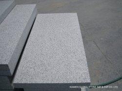 Flammé G365 de la Chine Sinoceasar en granit blanc pavage extérieur/Curbstone / revêtement mural tile//carte de montage de l'escalier/Gris Noir / revêtement de sol extérieur impérial