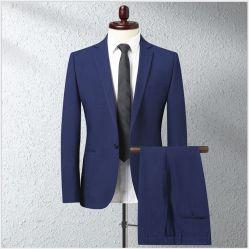 OEM 남성용 양복 투피스 웨딩 비즈니스 슈트 도매 맞춤화