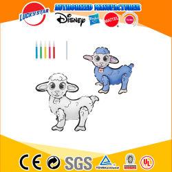 Fördernde Handfarbanstrich-Schaf-kundenspezifisches aufblasbares Spielzeug des Spielzeug-Partei-Ballon-DIY