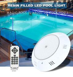 Hohobn은 15년 OEM ODM 제조업체 12V 24V IP68 내접지에 공급했습니다 지하 분수 연못 수중 수영장 조명 LED