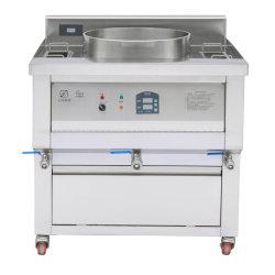 850 Tipo de aparelho de cozinha de aço inoxidável Comercial Ronda Eléctrico Fritadeira
