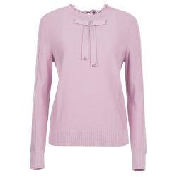 Осенью и зимой трикотажных изделий новой нижней части блуза темперамент Long-Sleeved розовый универсальный шерстяной свитер перемычка