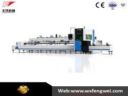 2500W máquina de corte de fibra a laser de tubo com uma carga máxima de 900kg/2000IBS