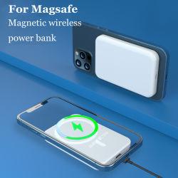 شاحن جديد لاسلكي مغناطيسي بقوة 15 واط لمصرف الطاقة 2021 لمدة بطارية هاتف محمول MagSafe لهاتف iPhone 12 Xiaomi Samsung 10000 مللي أمبير/ساعة