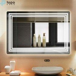 浴室(MR-YB1-DJ004)のための6mmの美ライトミラー