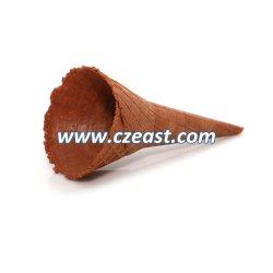 Collar de color irregular del ángulo de doble cono de helado