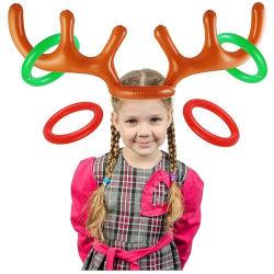 Spel van de Worp van de Ring van de Geweitak van het Stuk speelgoed van Kerstmis van de Decoratie van Halloween van de Levering van de fabriek het Hete Verkopende Opblaasbare
