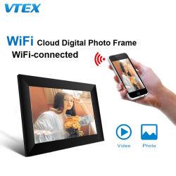 7 pouces 5g Télécommande Wi-Fi stockage Cloud Framoe libre Bois Cadres Photo Photo numérique