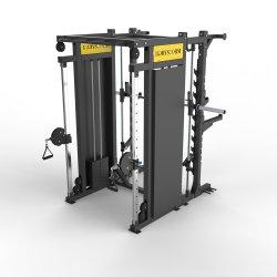 최신 판매 상업적인 체조 기계 힘 자유 스미스 기능적인 조련사 웅크리기 선반 적당 장비