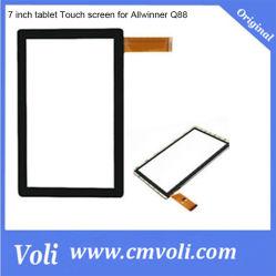 7 de Aanraking van PC van de Tablet van de duim voor Allwinner A13 Q88 A23