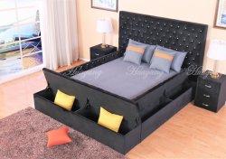 Cama desmontable cama cuadrada cama blanca cama personalizada dormitorio tapizado Muebles con cajones y sofá cama dormitorio cama de pared