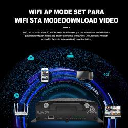 Auto digitale videorecorder taxi Truck Bus CCTV systeem Mdvr ondersteunt GPS