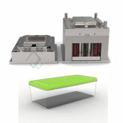 Plastikform-transparentes Lebensmittelkonservierung-Kasten-Spritzen