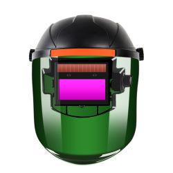 خدمة نقل فائق السرعة باللون الأسود ذات المبيعات الساخنة ضبط التعتيم التلقائي عند اللحام المُثبَّت بالرأس واقي الوجه