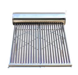 أنبوب تفريغ ضغط منخفض على السطح من الفولاذ المقاوم للصدأ Sun Power SUS304 جهاز تدفئة المياه بالطاقة الشمسية