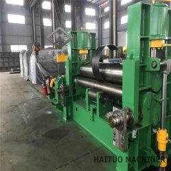 W11s rouleau supérieur de la machine de laminage de la plaque hydraulique universel