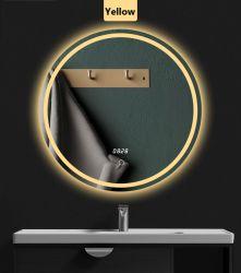 أشعل محترف [لد] حمام [رووند شب] زخرفة مرآة لون كبيرة يشكّل غرفة حمّام مرآة ذكيّة