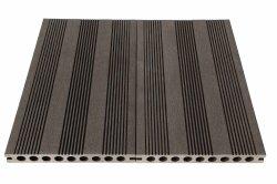 أرضية خارجية خشبية بلاستيك WPC منصة خشبية TS-04