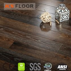 8110 les revêtements de sol stratifié 12mm E1 U-Groove HDF Eir cirage deux revêtements de sol stratifié de bande