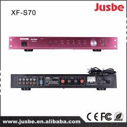 Jusbe XF-S70 MP3 double canal intégré stéréo amplificateur de puissance de mixage