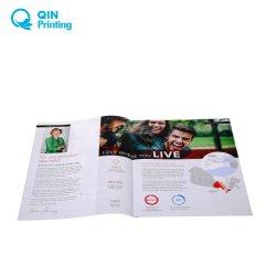 安いカラーパンフレットのリーフレットのフライヤの小冊子のパンフレットの印刷