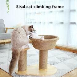 단단한 나무 사이살 삼 고양이 찰상 널 고양이 정글짐 0238