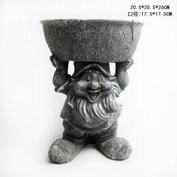 De Gift van de Pot van de Bloem van de Gnoom van de Hars van de Ambacht van het Standbeeld van Polyresin