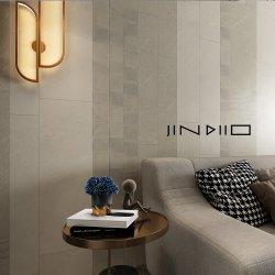 300X600 400X800mm現代様式のカラーラの白い浴室の陶磁器の壁および床タイル