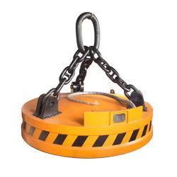 Gru a carroponte elettro-magnetica, potente sollevatore elettro-magnetico, elettromagnete di sollevamento utilizzato per gru
