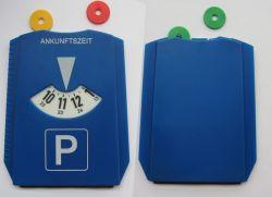 Un parking en plastique du disque Disque de stationnement de la glace avec puces de racleur