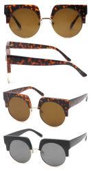 2018 New Designed Half Frame Plastic Sunglasses (SP701039)
