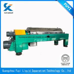 Traitement des eaux usées de haute performance centrifugeuse décanteur