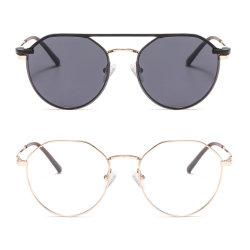 Нет MOQ Дрсуга металлические поляризованной закрепите очки от держателей круглой формы