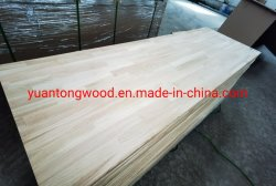 De rand lijmde het Gezamenlijke Stevige Houten Timmerhout van China van de Naam van het Product van de Raad Witte Eiken
