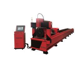 Jinan-Rohr-Gefäß CNC-Plasma-Ausschnitt-Maschine mit amerikanischem Plasma-Generator für maximale Stärke 40mm