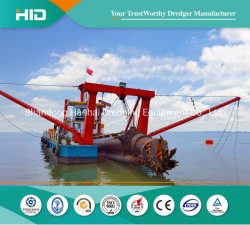 Marque HID CSD Drague drague d'exploitation minière de sable de dragage de machines d'équipement pour le dragage du port