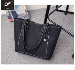 Handtassen van het Leer van de Zakken Goedkope Pu van de Vrouwen van de Stijl van de manier de Elegante Dame Tote Bags met het Embleem 2018 van de Douane