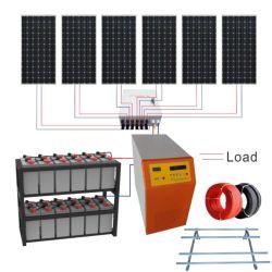 20kw10 6Kw kw 2kw 1 kw Hybird Kit mini portable d'énergie solaire pour la maison du système d'éclairage