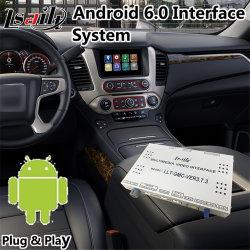 Android 6.0 Système de navigation d'interface vidéo pour GMC Yukon 2014-2018 Soutien Denal MCU/APP Mise à niveau en ligne