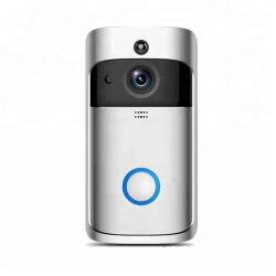 Novo! 720p digital sem fio WiFi alimentado por bateria Smart Campainha da câmara de vídeo