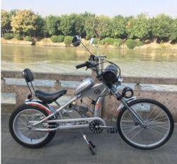 führte neues preiswertes populäres Bewegungszerhacker-Fahrrad des Gas-24inch des Cer-Benzin-Fahrrad-zwei Bewegungsfahrrad Anfall-des Motor-48cc