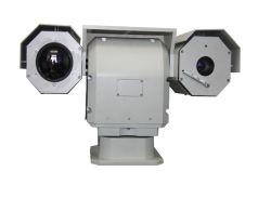Câmara Dia Térmica Dual-Sensor humanos 2.8km 8km veículo para a vigilância das fronteiras