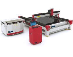 유리제 물 분출 절단기 CNC 절단기 기계장치
