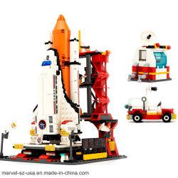 Город космодрома пространства 679ПК ребенка подарок кирпич строительный блок игрушки головоломки игрушка