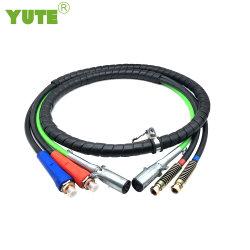 Yute pièces Auto 3 en 1 câble ABS Prokect flexible de frein de l'air et de répondre à la norme SAE J1402 12ft de long