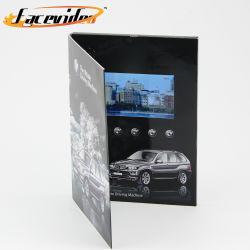 Facevideo 4.3 pouces TFT LCD HD Lecteur Vidéo de la carte vidéo Brochure Brochure magazine numérique