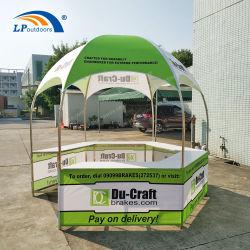 Dia 3m Stand Hexagonal Carpa contador para promoción