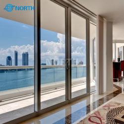 Super caliente negro separador doble triple acristalamiento plata baja e muro cortina de aislamiento de la arquitectura Construcción Diseño de acuarios decorativos de cristal de construcción personalizado