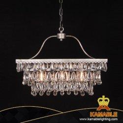 Simplicidad Low-Key Borrar lámpara colgante de cristal de la tabla (GD1090-3)